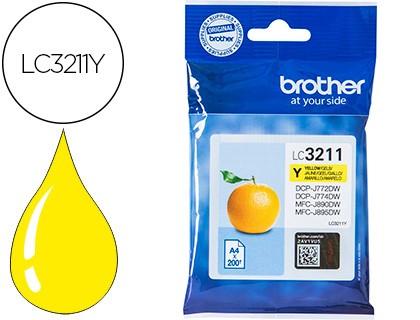 Brother LC3211 amarillo