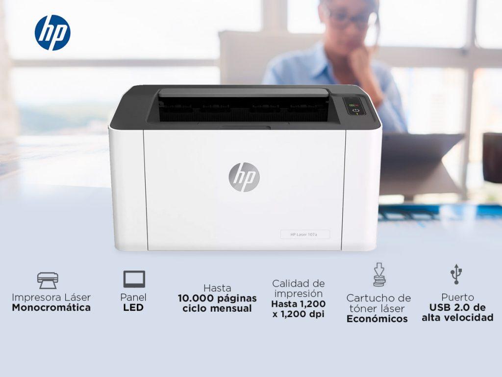 Valoraciones de los clientes Impresora HP Laser 107A