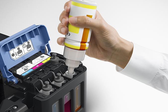 ¿Cómo funciona Canon Inkjet MegaTank?