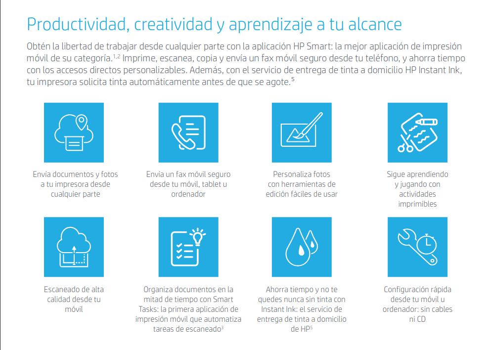 HP OfficeJet Pro 8024 Características