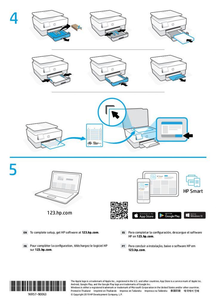 HP OfficeJet Pro 8024 Unboxing 2