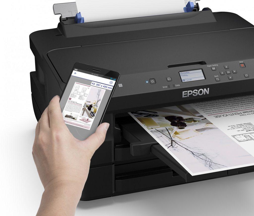 impresora Epson WF-7210DTW