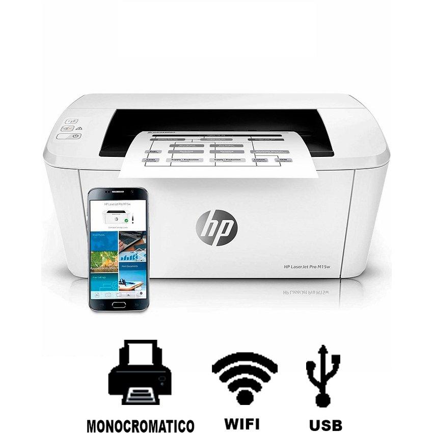 Impresora hp laserjet pro m15w wifi