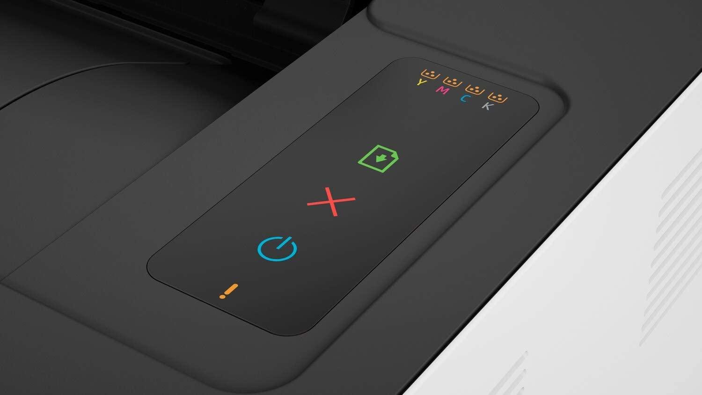 Impresora HP color láser 150a botones