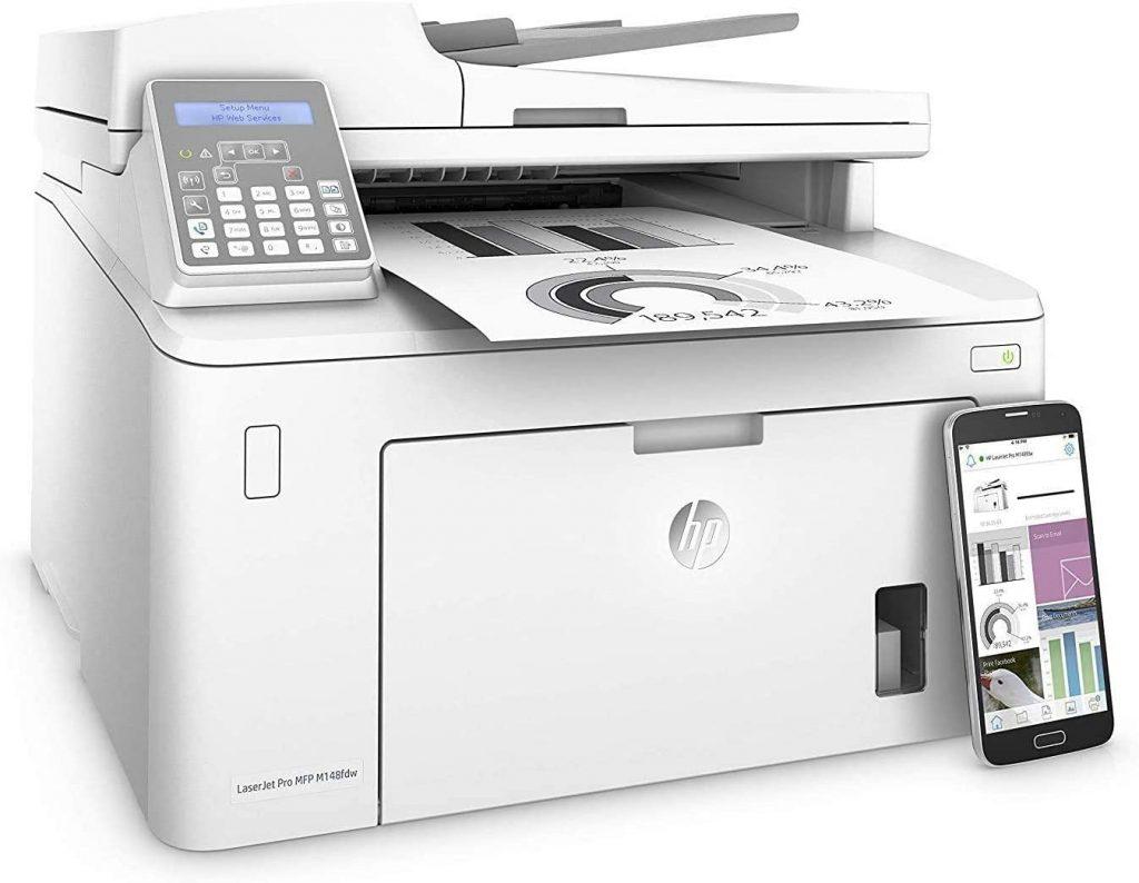 impresora m148fdw wifi imprimir desde el movil