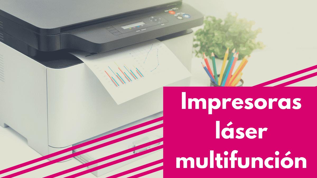 Impresoras láser multifuncion