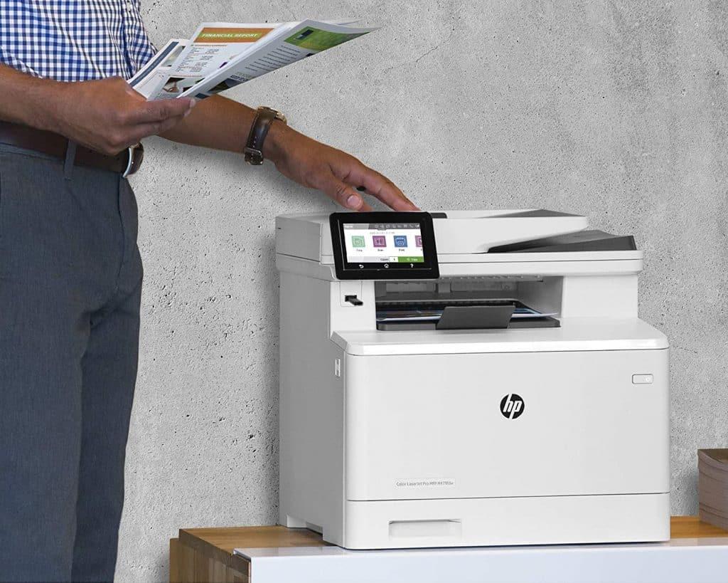 impresora laser multifuncion