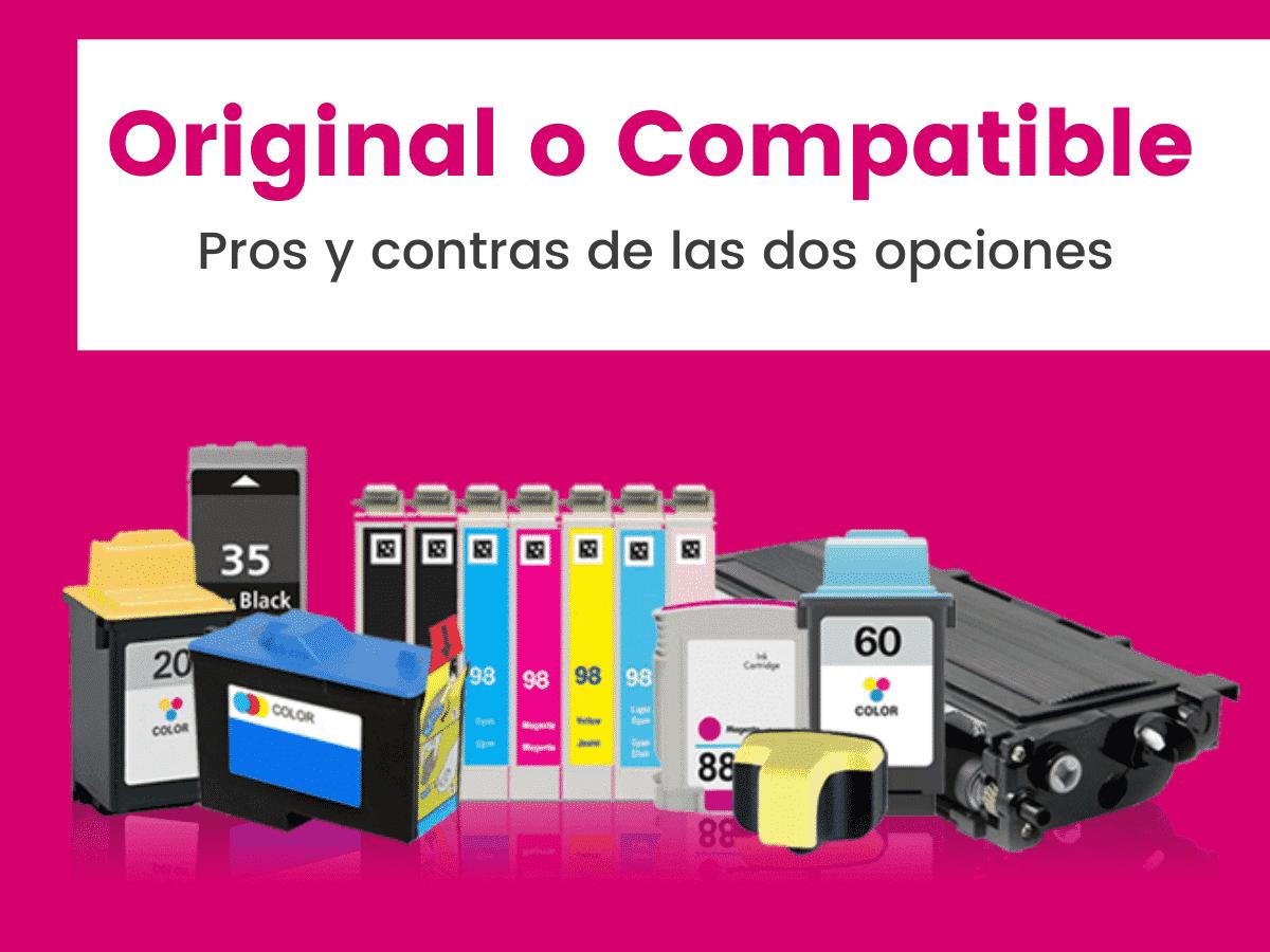 Cartuchos Compatible o tinta Original