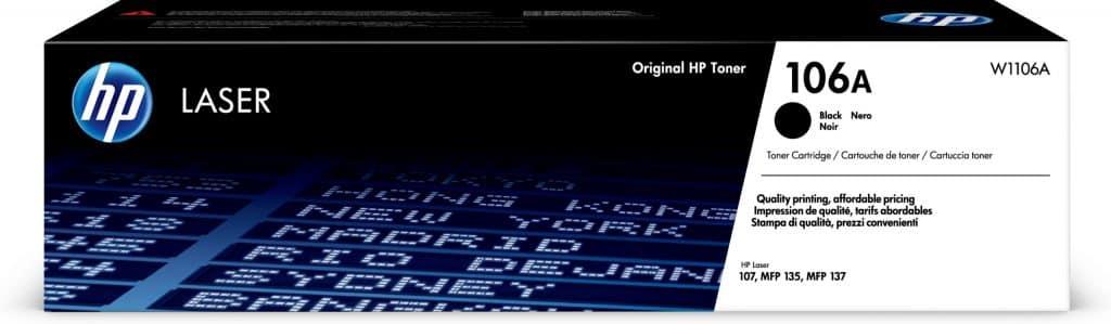 HP Laser MFP 137fnw toner hp106a