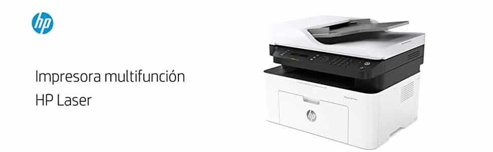 Impresoras HP Laser MFP 137fnw caracteristicas