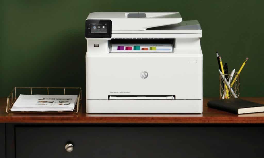 HP Color LaserJet Pro M283fdw valoraciones