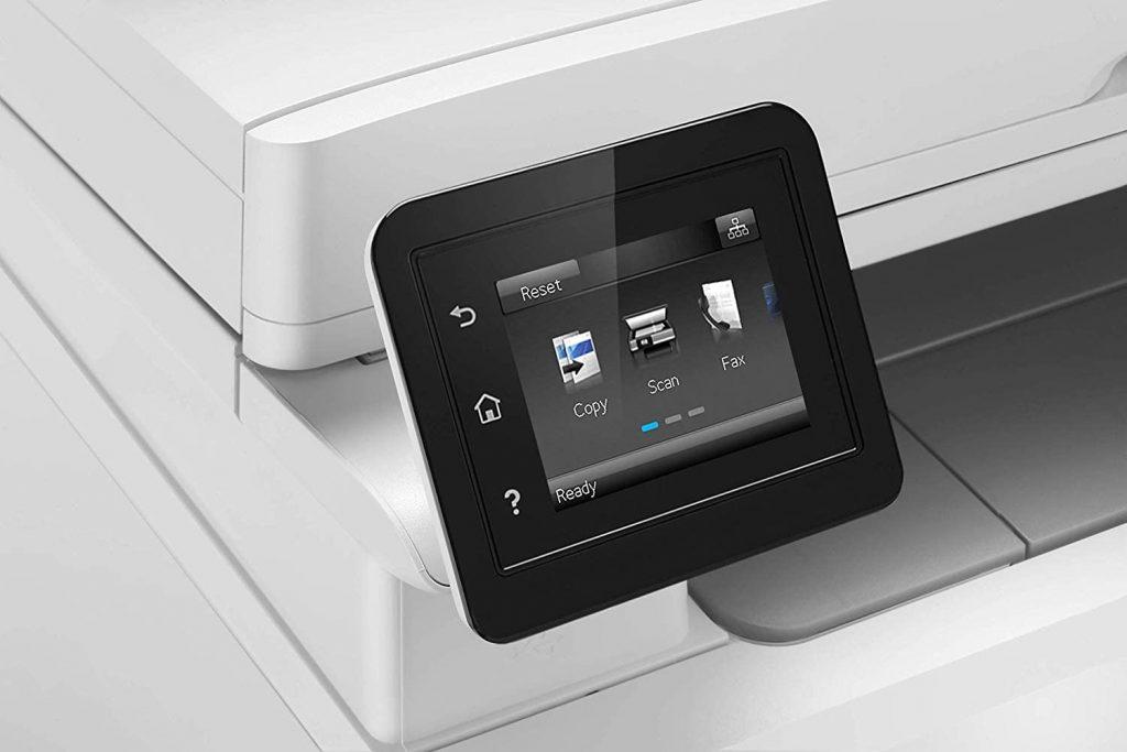 HP Color LaserJet Pro MFP M283fdw pantalla lcd táctil