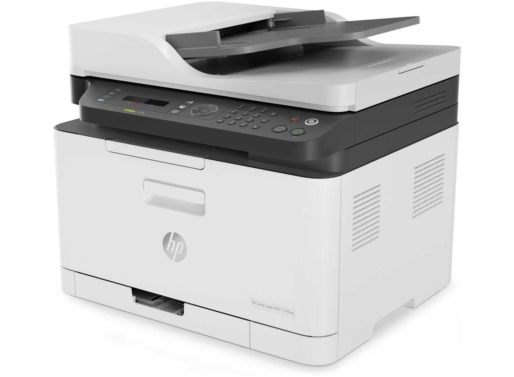 Impresora multifunción HP Color Laser 179fnw ethernet y wifi