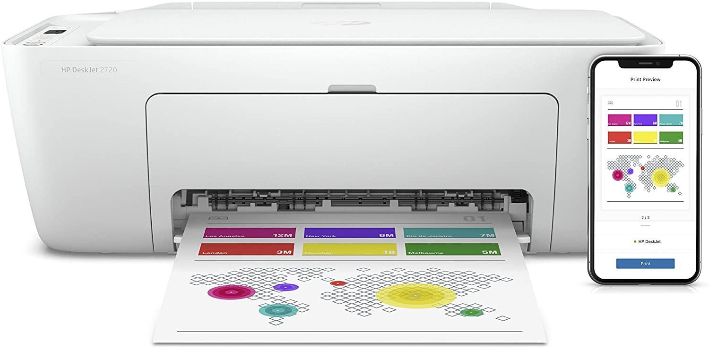 impresora multifunción HP DeskJet 2720 con wifi