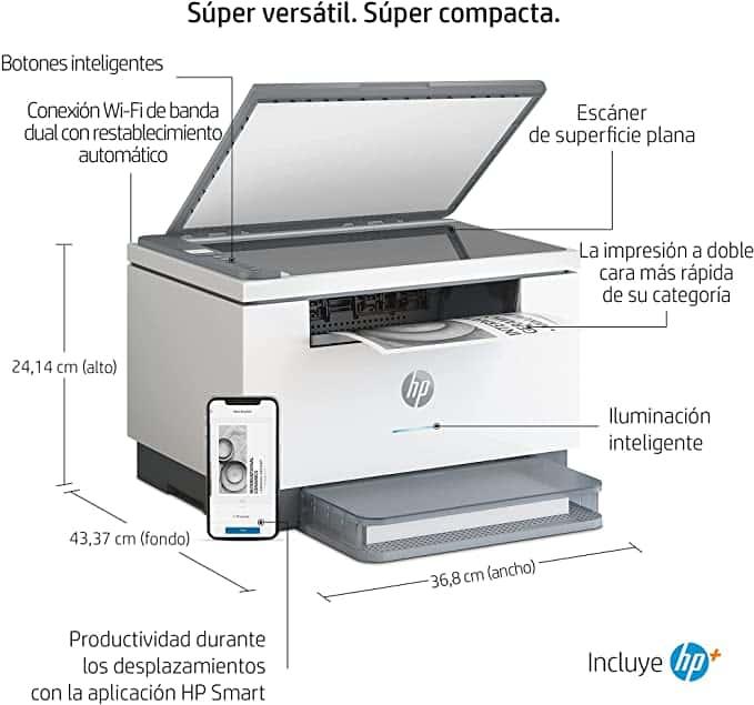 HP LaserJet m234dw características