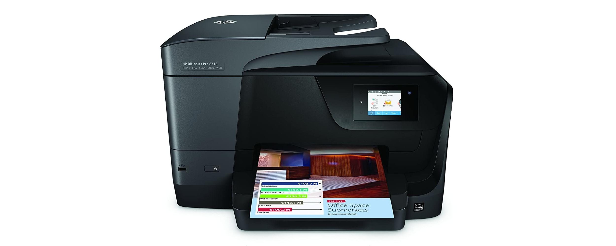 Cartuchos HP OfficeJet Pro 8718