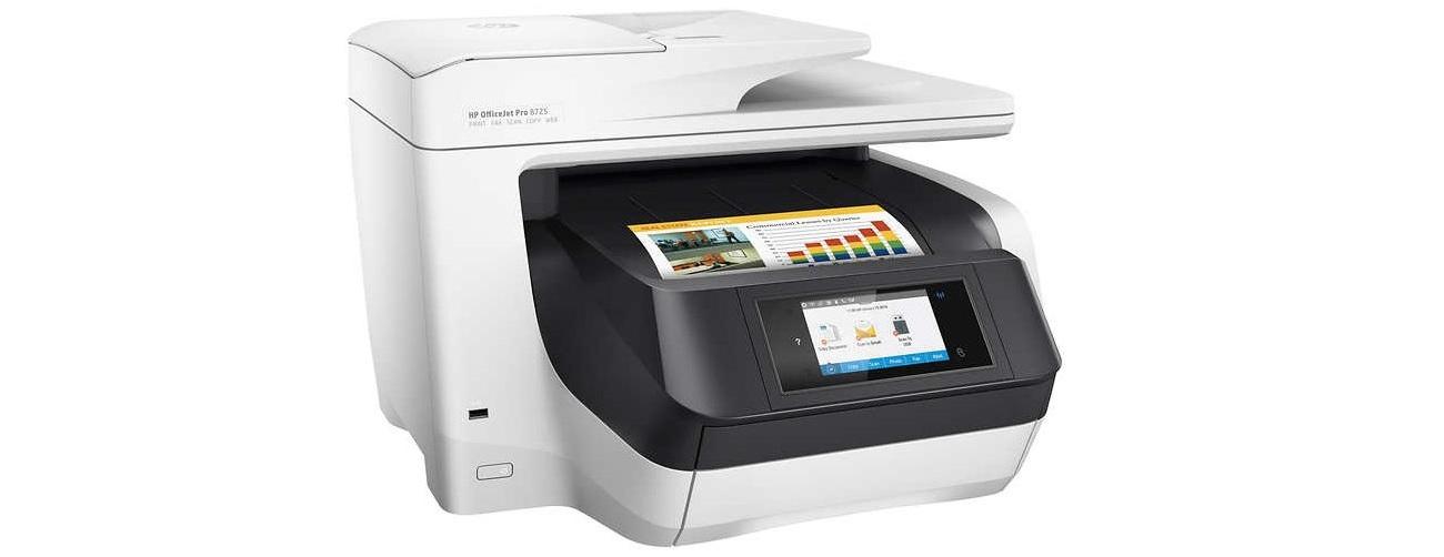 Cartuchos HP OfficeJet Pro 8725