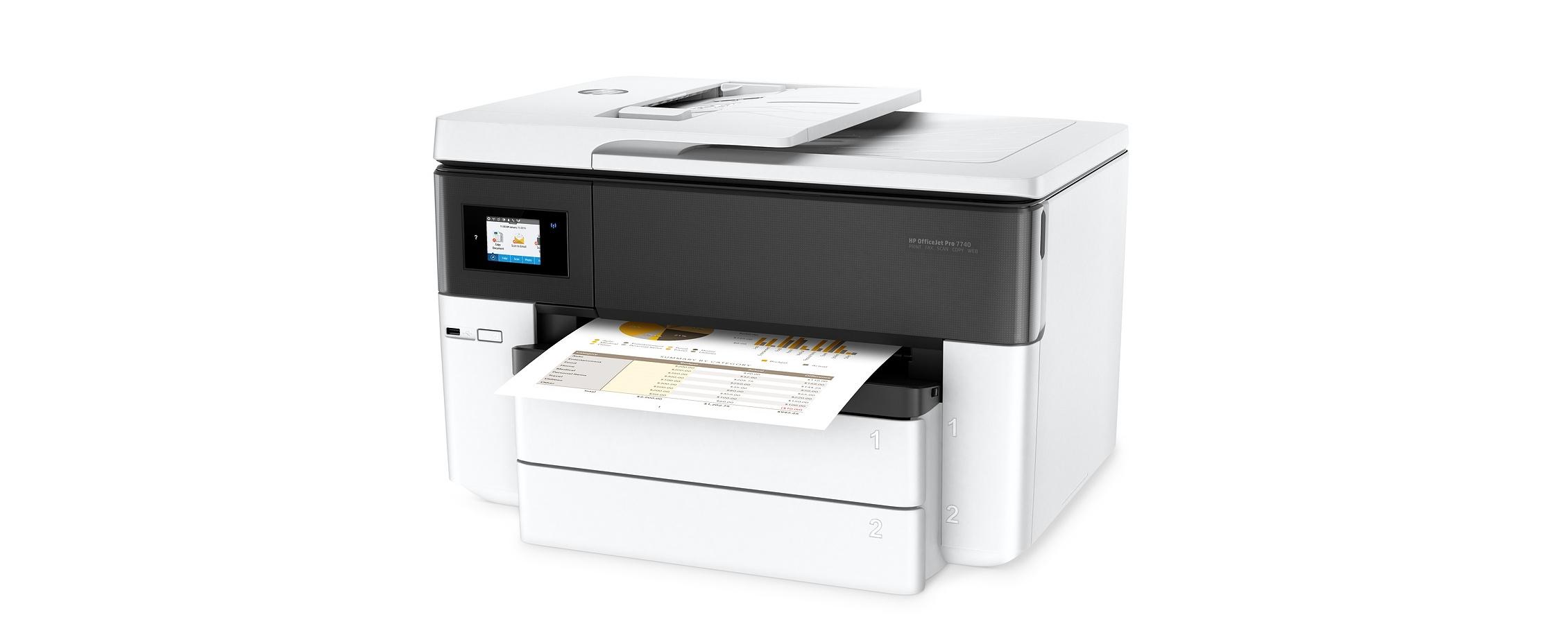 Cartuchos HP Officejet Pro 7740