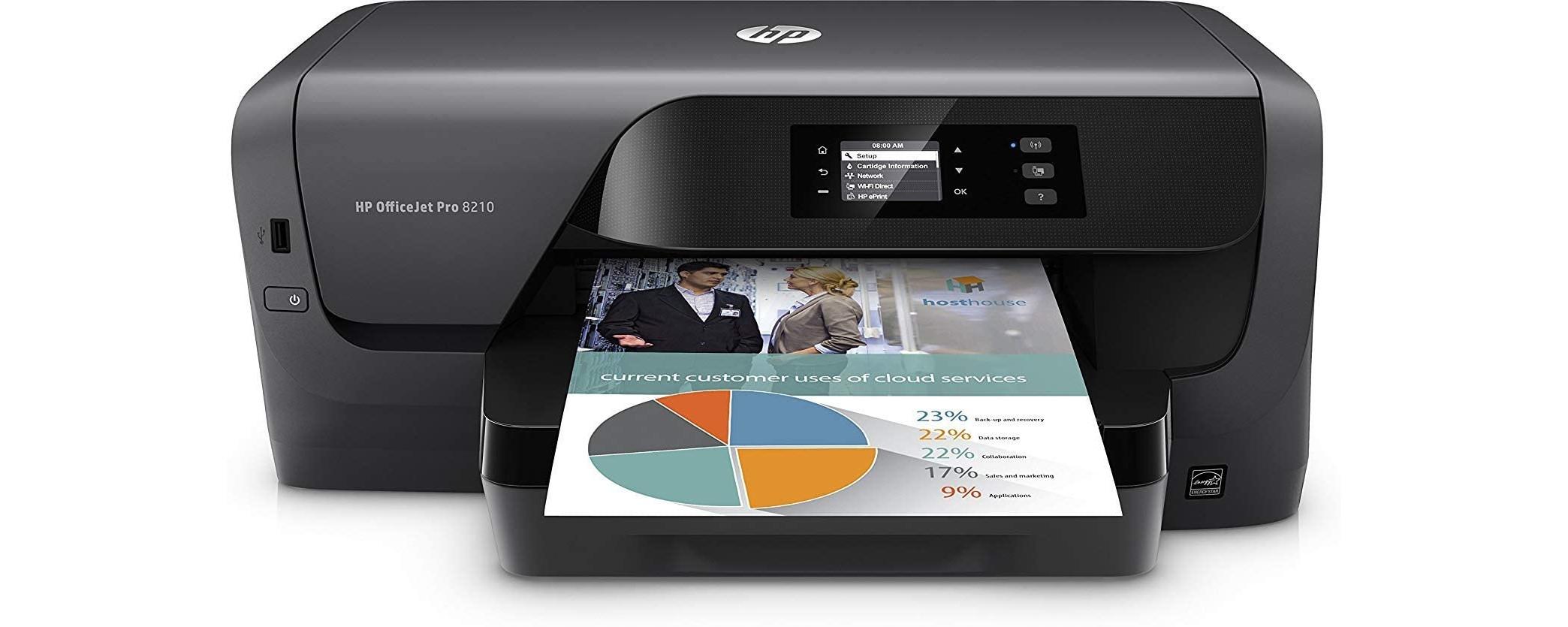 Cartuchos HP OfficeJet Pro 8210