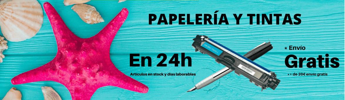 Cartuchos de tinta y toner en 24h gratis
