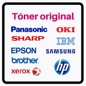 Cartuchos de toner Originales OEM para impresoras laser